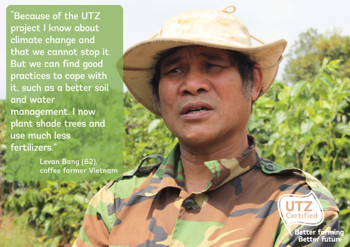 Levan Bang - part of the Coffee Climate Care project - UTZ Certified