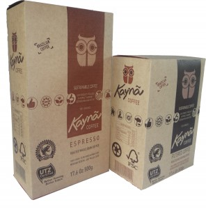 Sustainable UTZ certified Kaynã Coffee from Brazilian coffee farmerJefferson Adorno
