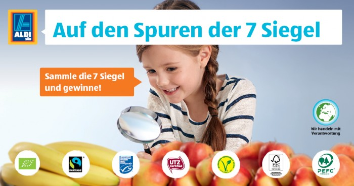 ALDI SUD_7 seals campaign visual