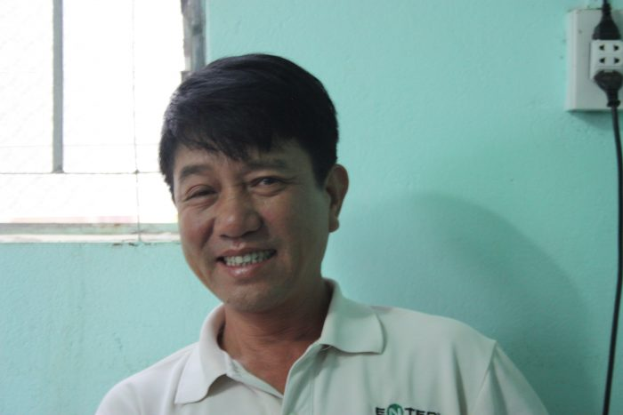 Tran van Tho, Coffee Farmer, Coffee Climate Care project, Vietnam