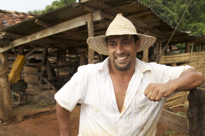 Grandson of BRazilian coffee farmer Maria Aperacida Silva