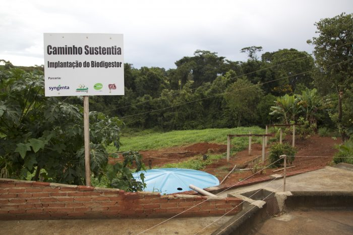 Maria Silva's farm in Brazil is part of the UTZ training program 'Caminho Sustentia initiative'