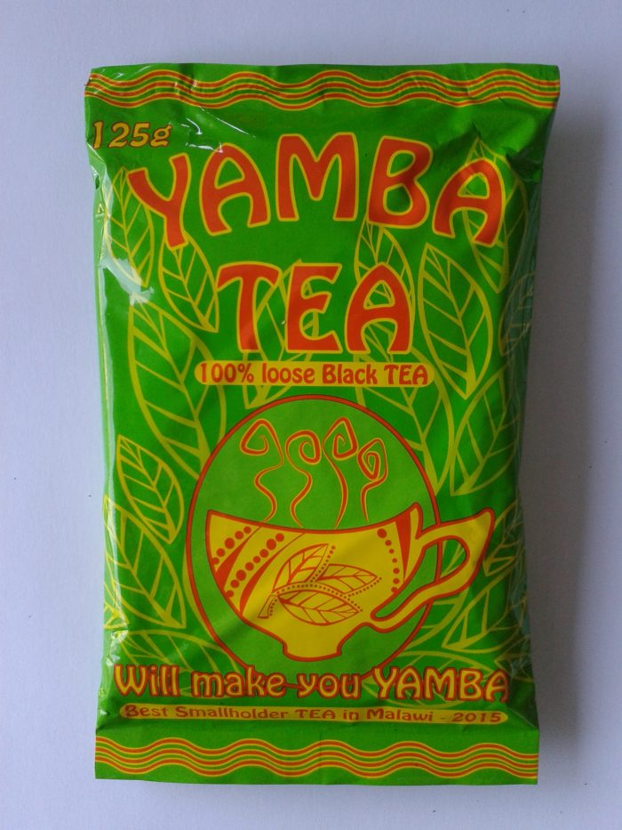 YAMBA tea product packaging - Satemwa, Malawi