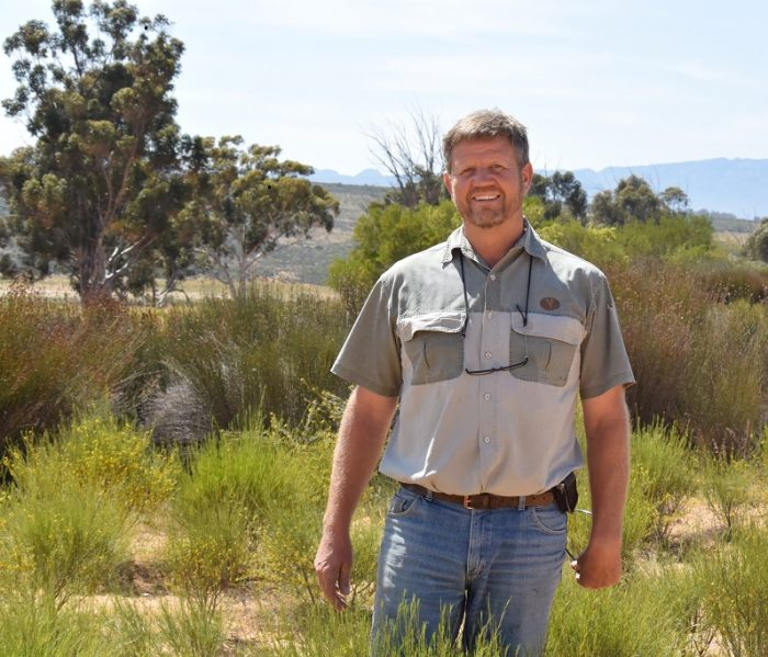 Willie Nel at Ysterfontein plantation